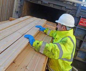 Ecolap Timber at the Treatment Plant
